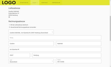 Onlineshop: Bestellprozess testen