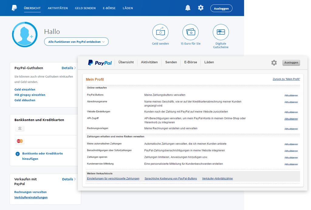 Paypal Konto Wechseln
